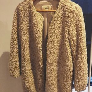 Wilfred (by Aritzia) teddy jacket